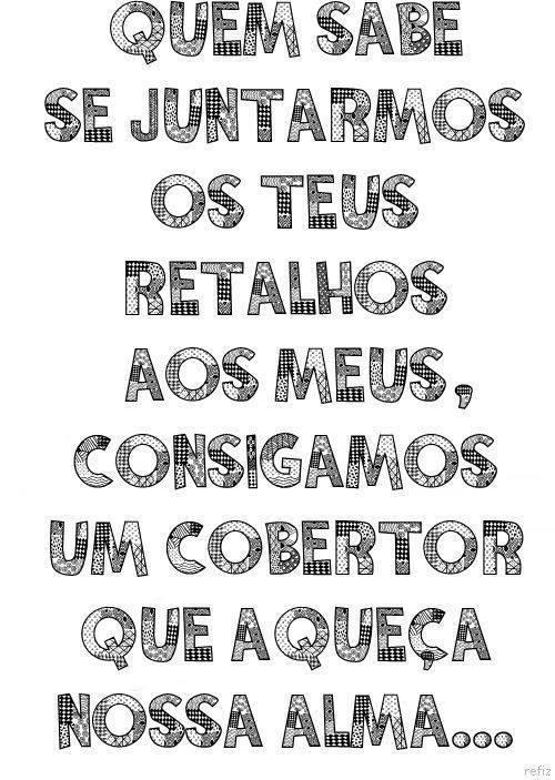 Retalhos ;)